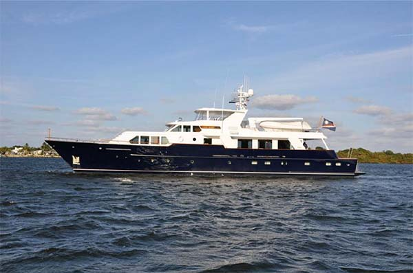 Quality yachts for sale 109 feadship motor yacht for for Palm beach motor yachts for sale
