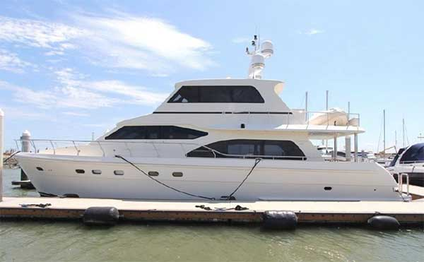 Hampton 680 Motor Yacht for Sale