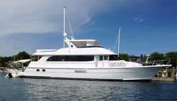 Hatteras 75 Sport Deck Motor Yacht for Sale | Family Ties