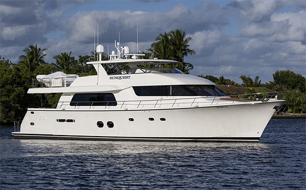 85 Pacific Mariner Motor Yacht Sunquest for Sale